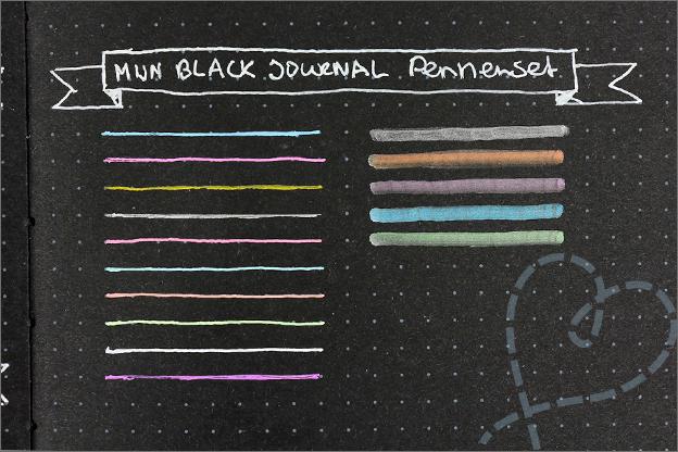 Review mijn black journal pennenset pennentest