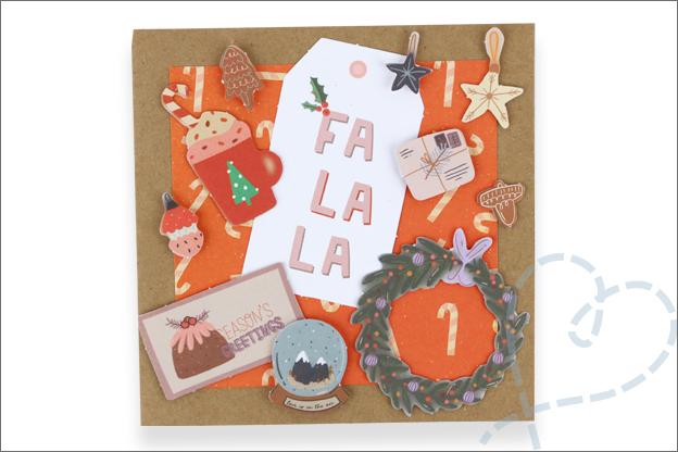 Action luxe papierblok kerst decotime