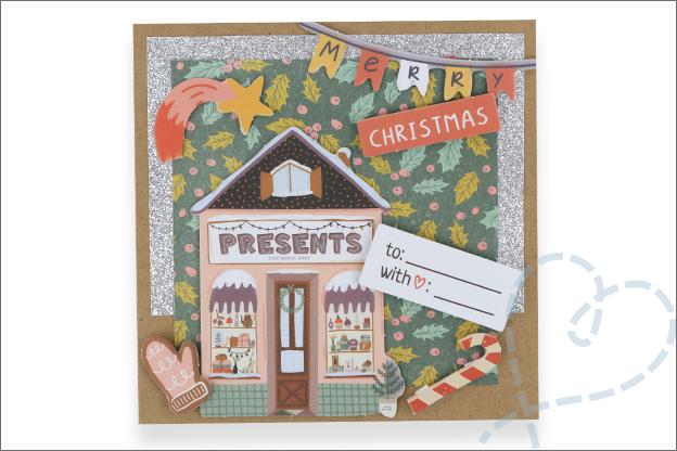 Action luxe papierblok kerst makkelijk