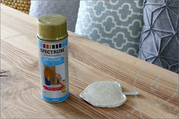DIY herfst schaal spuitverf spuitbus verven action
