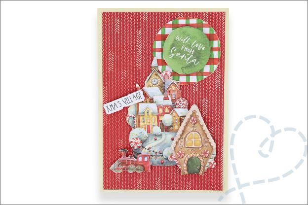 Decotime luxe papierblok kerst klassiek