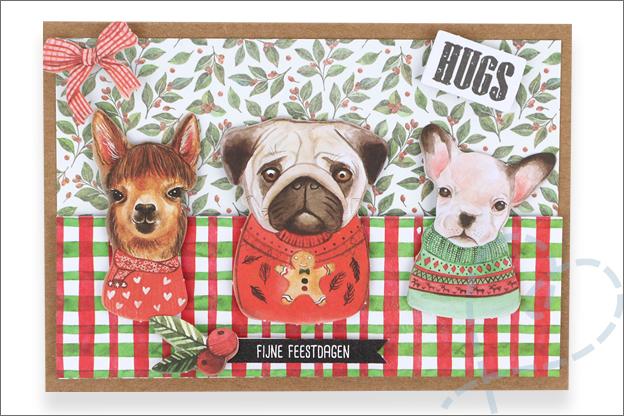 kaarten maken action decotime kerst