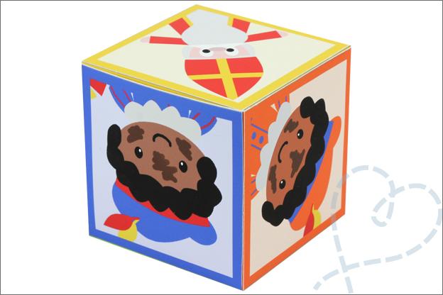 DIY_Sinterklaas Spel dobbelsteen gratis printable