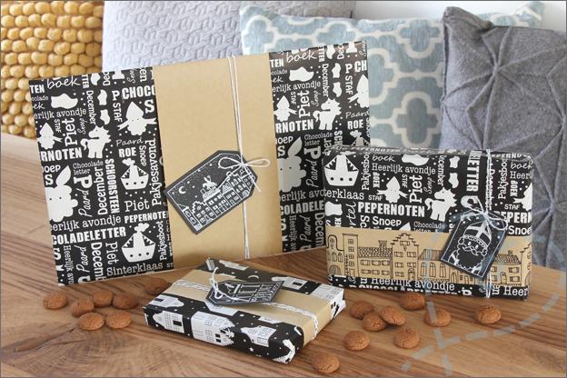 DIY sinterklaas inpakken cadeautjes tips inspiratie