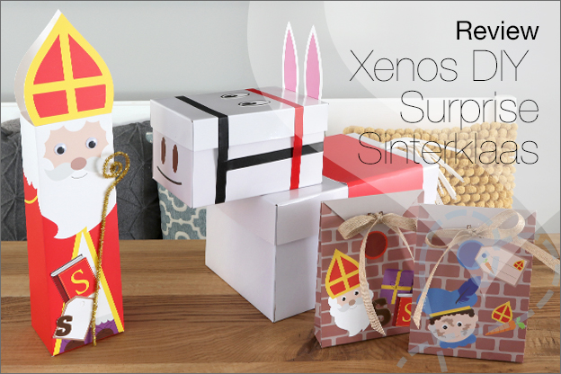 Review Xenos DIY Surprise sets sinterklaas
