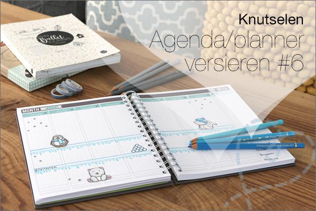 agenda planner dagboek versieren ideeen inspiratie