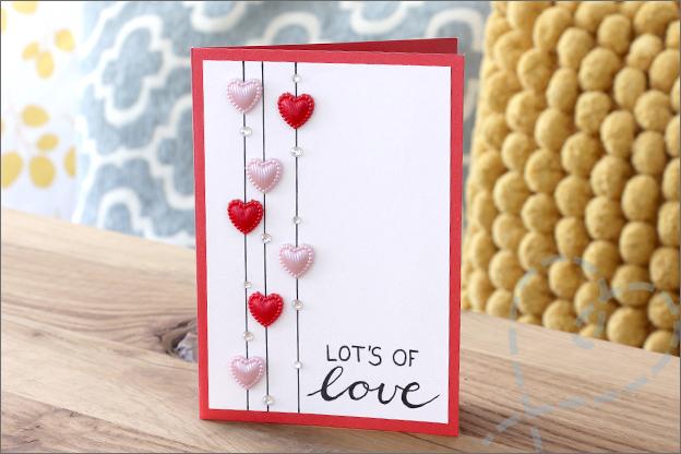 Kaarten maken inspiratie trouwkaart zelfgemaakt