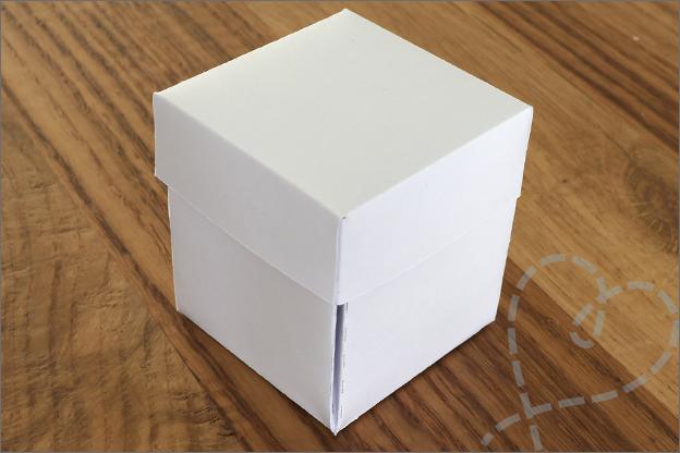 Explosion gift box DIY cadeaudoosje