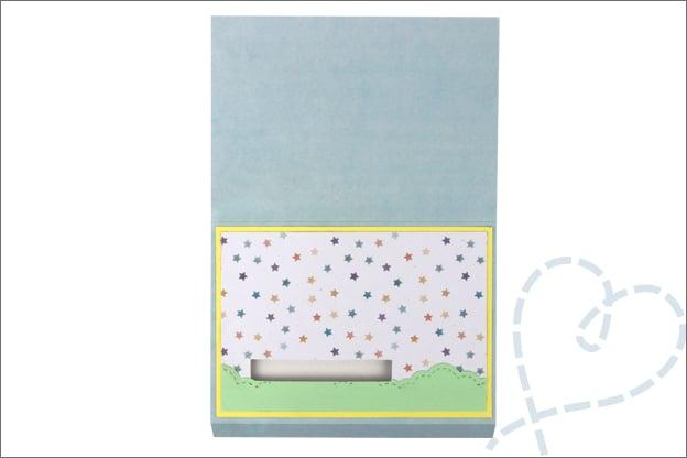 Uitleg schuifkaart versieren stap voor stap uitleg
