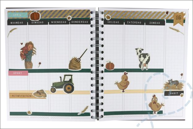 Agenda stickers CreaChick bullet journal