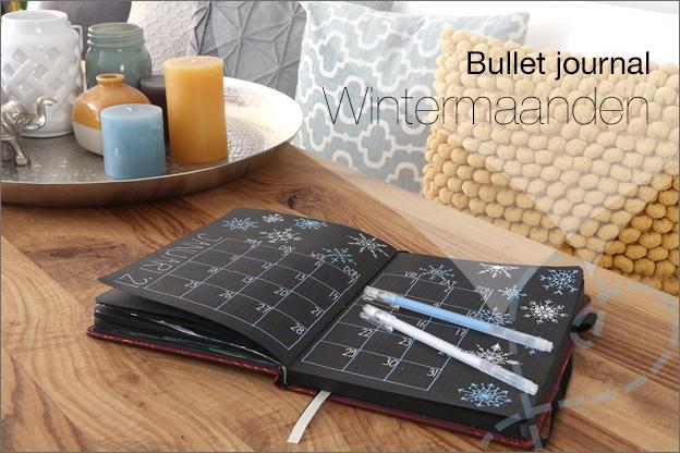 Bullet journal black journal inspiratie herfst