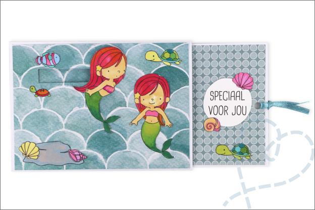 Inspiratie schuifkaart clear stamps MFT
