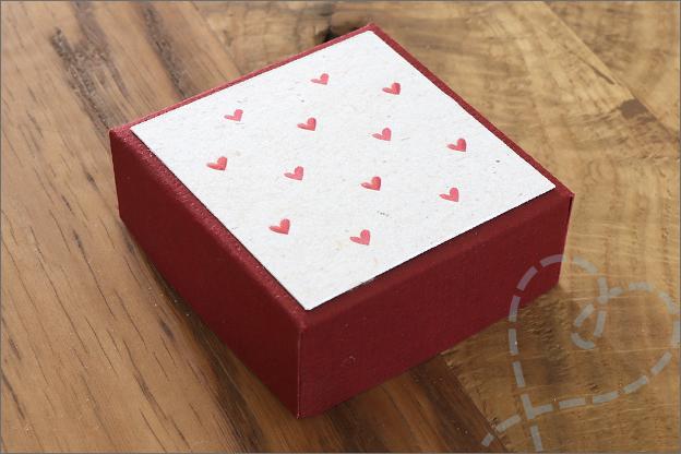 DIY Explosie doosje valentijn Foto