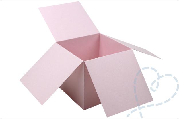 Kaart in Doos maken uitleg printable