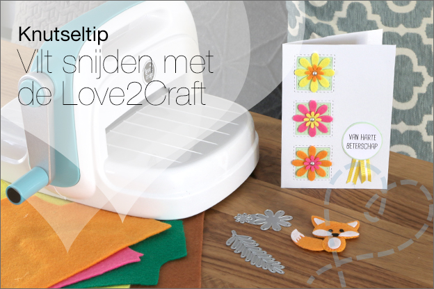 Knutseltip love2craft Action vilt snijden
