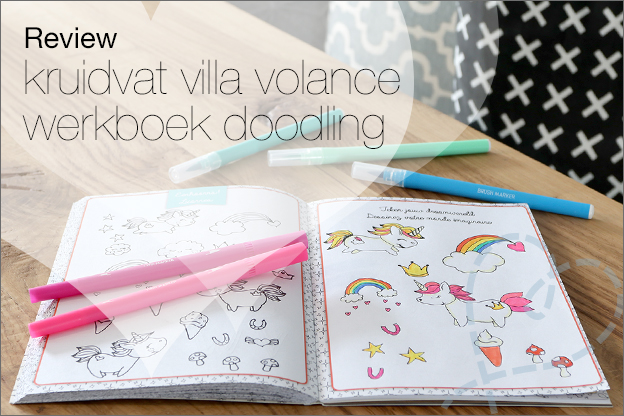 Review kruidvat villa volance werkboek doodling