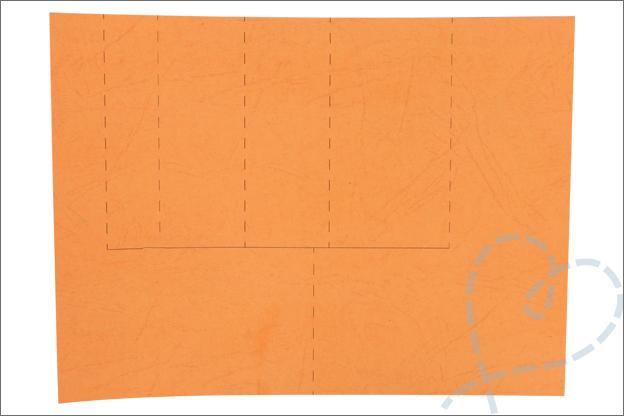Trapjeskaart basispatroon gratis printable