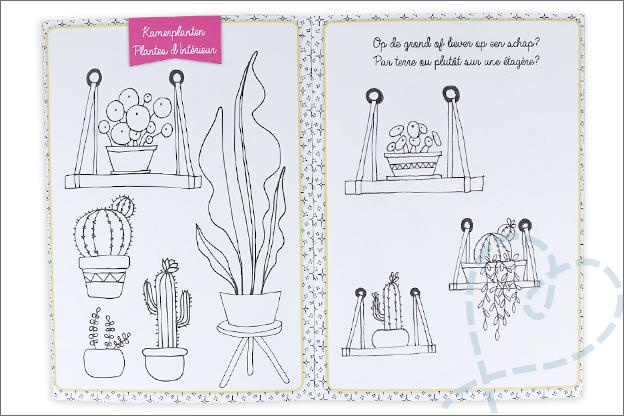 kruidvat villa volance werkboek doodling