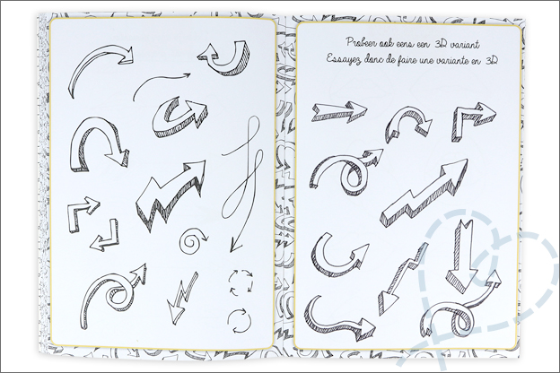 kruidvat werkboek doodles