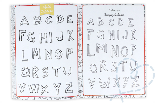 review villa volance werkboek doodling