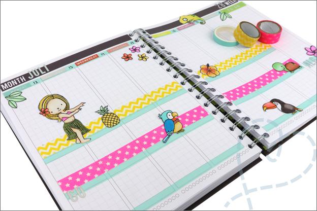 Agenda knutselen thema inspiratie zomer