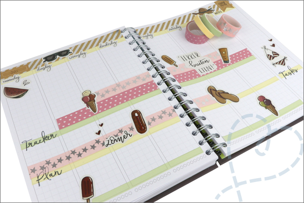 Agenda planner thema zomer inspiratie