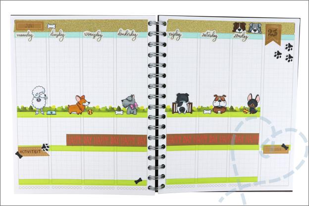 Agenda thema pagina hondjes wk25