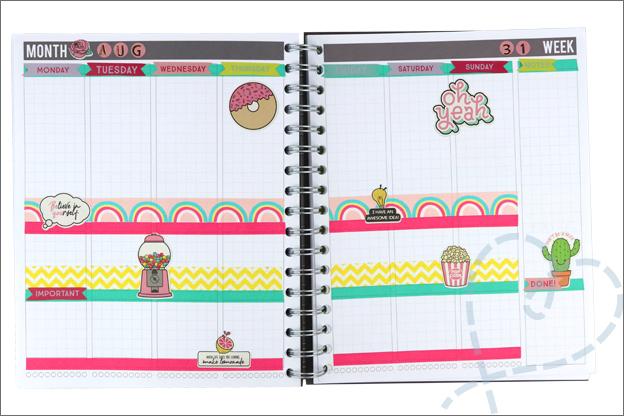 planner versieren action washi tape stickers decotime