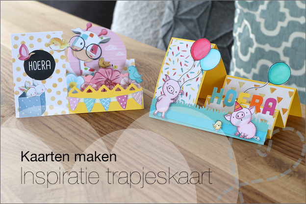 Inspiratie trapjeskaart side step card gratis printable