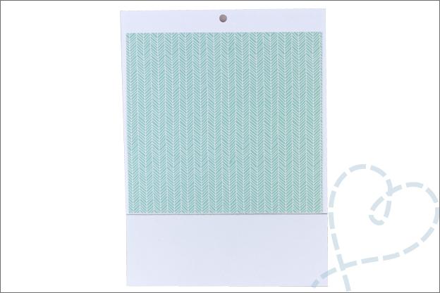 kaart met cadeautje maken binnenkant