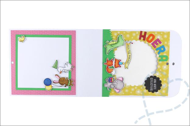 kaart met cadeautje uitleg gratis printable