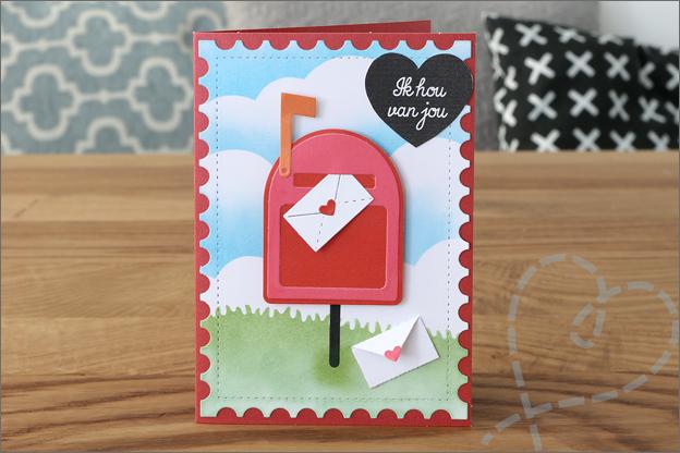 Avec love2craft snijmallen ACtion uitleg inspiratie brievenbus