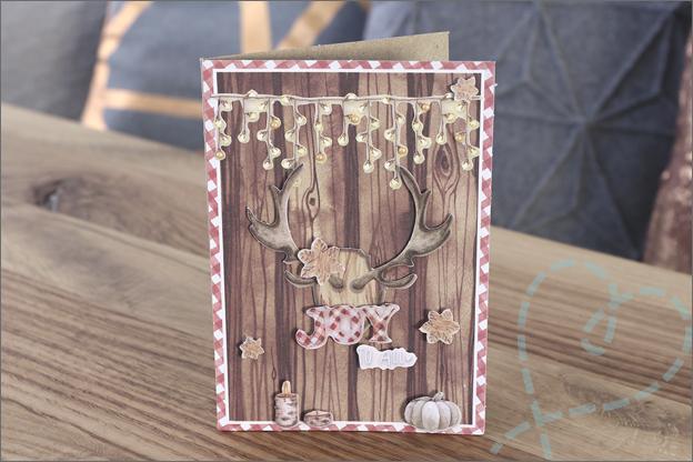 DecoTime 3D-stansblokken kerst 1 inspiratie