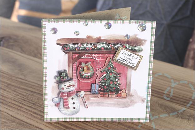 DecoTime 3D-stansblokken kerst 2 uitleg