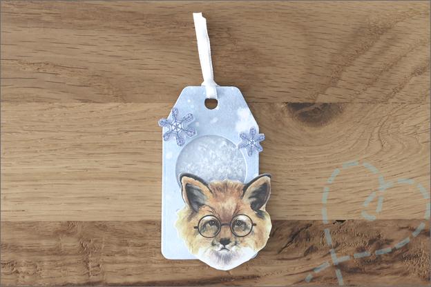 DecoTime Paper craft set kerst cadeaulabel