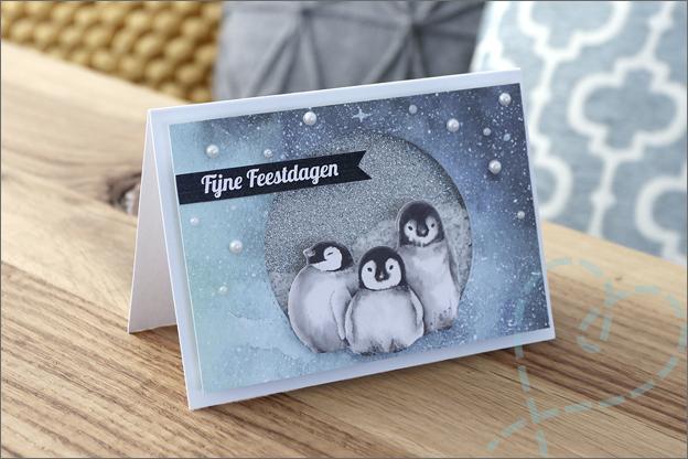 DecoTime Paper craft set kerst kaarten maken