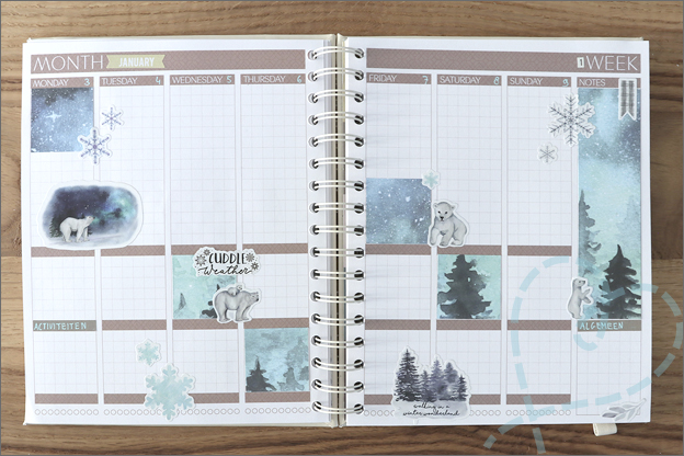 DecoTime Paper craft set kerst mascha planner 1