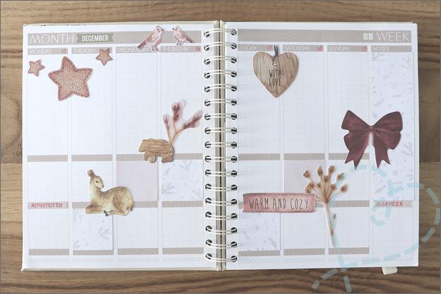 DecoTime Paper craft set kerst planner