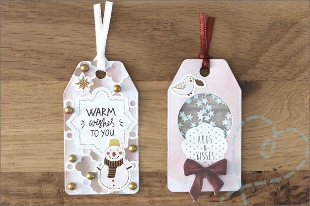 DecoTime papieren knutselset kerst cadeaukaartje