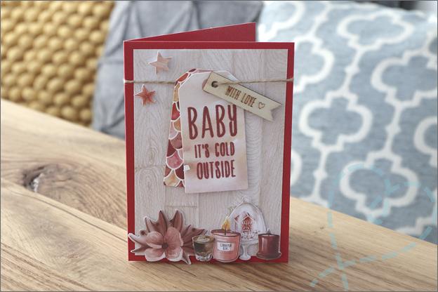 DecoTime papieren knutselset kerst kaarten maken