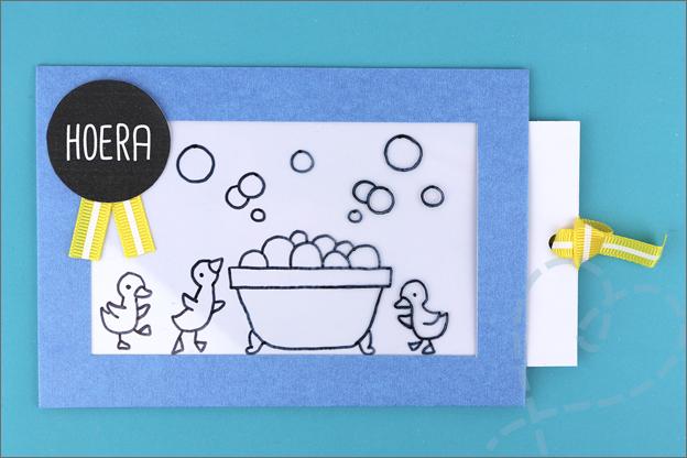 toverkaart verjaardagskaart maken