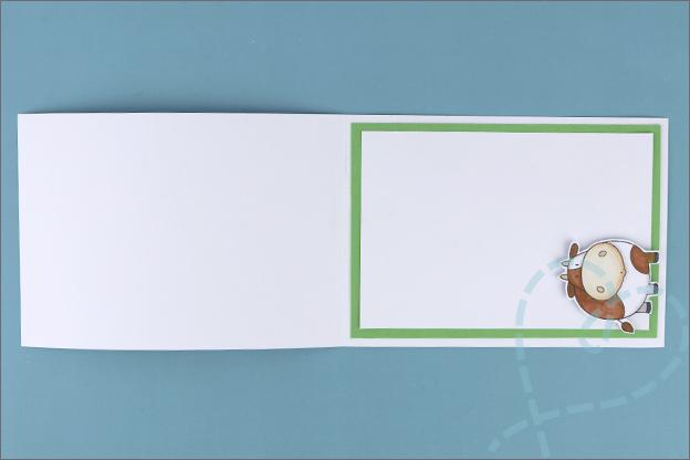 zig zag kaart maken uitleg achterkant