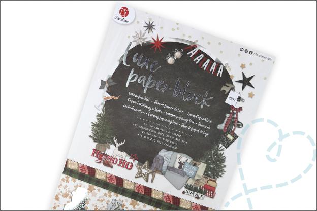 Action DecoTime papierblok kerst verpakking