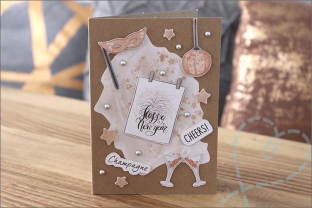 DecoTime kerst papierblokken kaarten maken