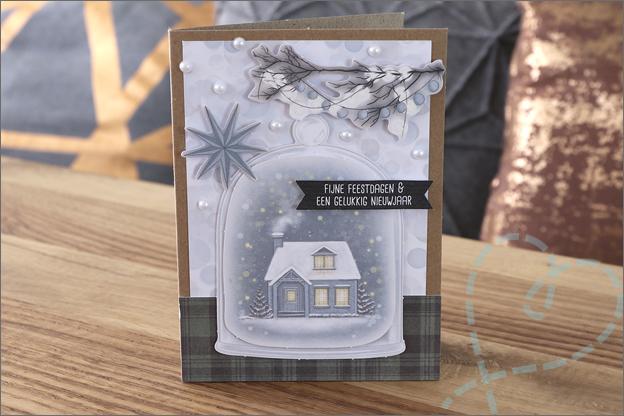 DecoTime papierblok kerst kaarten maken