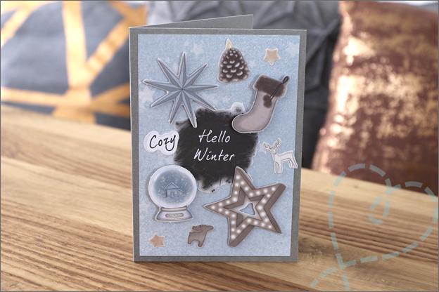 DecoTime papierblok kerstkaarten maken