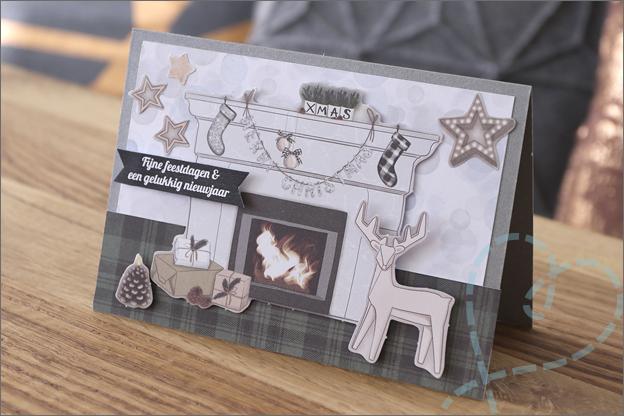 DecoTime papierblokken speciaal voor kerst voorbeeld kaarten