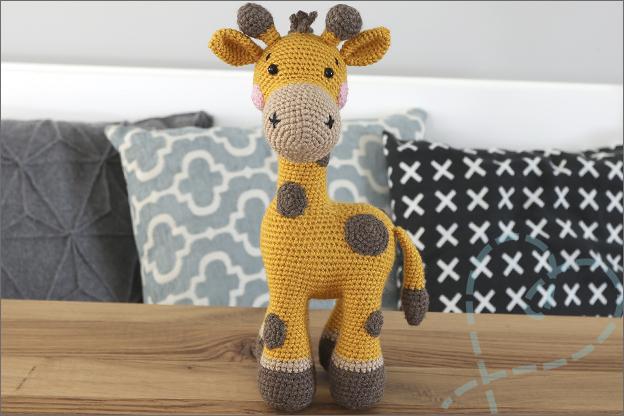 Haken bao de giraf Zoomigurumi 10 haakpatroon