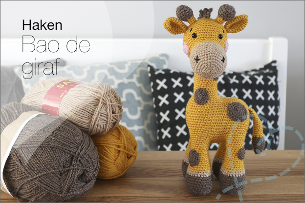 Haken bao de giraf Zoomigurumi 10