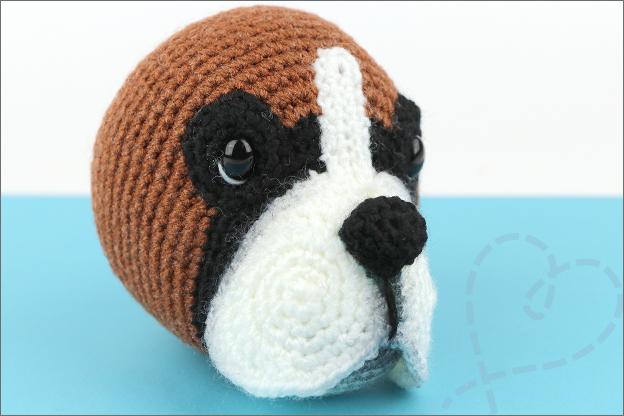 Haken hond boxer bruno hoofd tips
